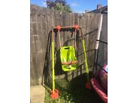 Baby swing bought for symths,£20 pick up from canton Cardiff,good condition x