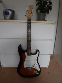 Squier Stratocaster - upgraded