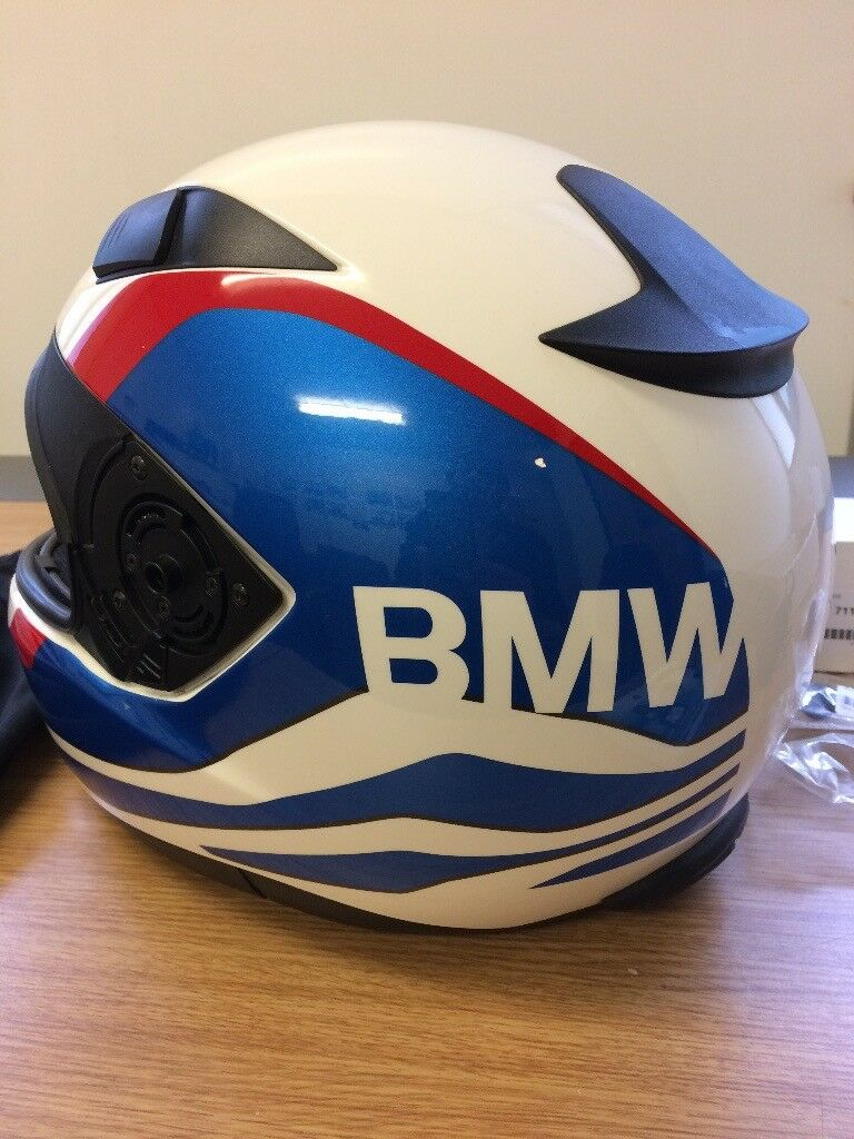 Bmw Sport Rr Helmet Small With Bluetooth Comms System