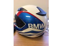 BMW Sport RR Helmet ,Small,with Bluetooth Comms System