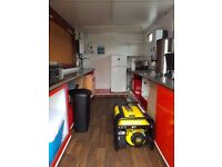 Mobile catering van/burger van for sale