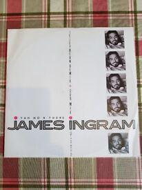 """James Ingram 12"""" vinyl signal"""