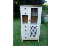 Lovely Display Cabinet/Cupboard with Shelves + Drawers