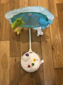 Fisher Price 2-in-1 projection cot mobile