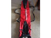 Salomon ski bag.