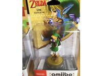 The legend of zelda ocarina of time Amiibo+ Link 8 bits( Brand New)