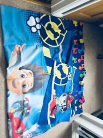 Paw Patrol Single duvet cover and pillow case
