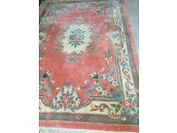 Chinese wool carpet