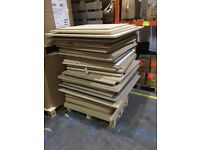 chip board of various sizes