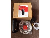 Virgin super hub router VMDG480 in box with accessories