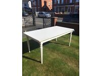 IKEA White Dining Room Table