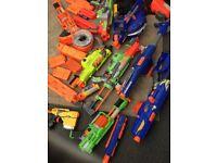 Nerf gun assortment