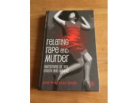 Relating Rape and Murder: Narratives Of Sex, Death and Gender - Jane Monckton- Smith