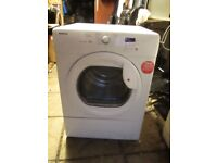 HOOVER VHC381 8KG CONDENSOR TUMBLE DRYER USED TESTED