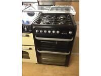Hotpoint 60cm gas cooker (Dual fuel)