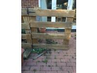 Free used decking wood