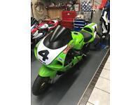Kawasaki zx7r Track bike