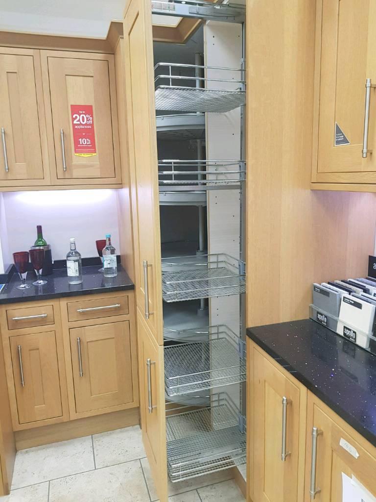 Heritage Oak Ex-Display Wickes Kitchen   in Edinburgh   Gumtree