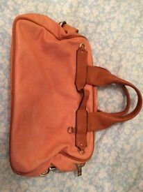 Bessie orange handbag