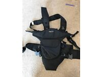 Black baby carrier - perfect condition
