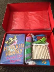 Horrid Henry Birthday party bag set 10 children