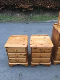 Ducal Pine style bedside chests * free furniture delivery *