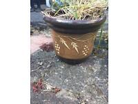Decorative plant pot