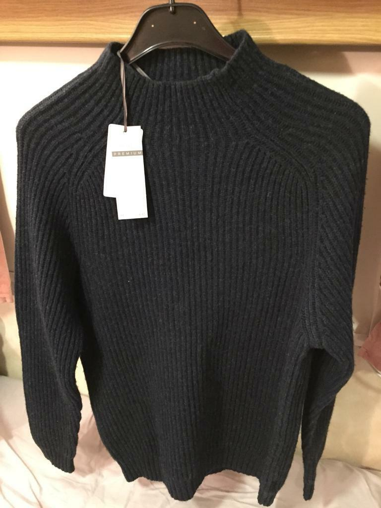Men's next jumper medium brand new lambswool blend cost £45
