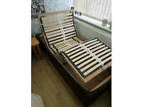 Electric adjustable medical bed