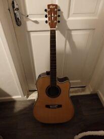 Cort acoustic guitar with built in fishman pickup. Model MR740FX NAT