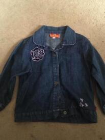 Girls jean jacket age 4-5 Yrs
