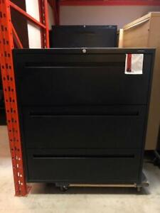 Global Contract 3 Drawer Lateral Filing Cabinet - $250.00