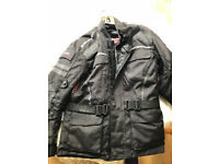 Jacket motorbike ROLEFF( with protections)