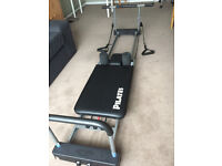 aero pilates 3 cords reformer with pull up bar and trampoline