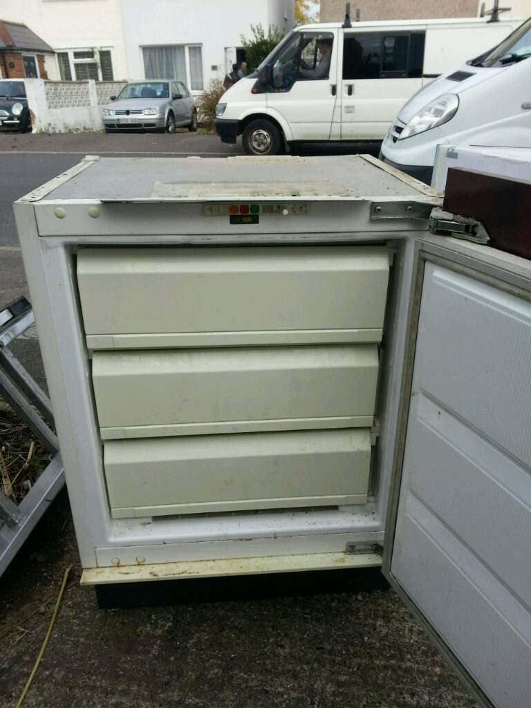 Freezer. Built in under counter type. Good quality. £80 Or best offer if can collect quickly.