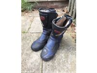 Sidi mens motorcycle boots size 10/11