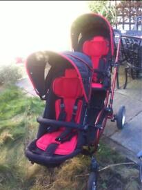 Buggy for twin