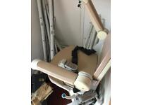 Minivator 2000 stairlift curved staircase