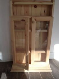 Pine Bathroom Cabinet.