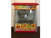 candyfloss and popcorn machine for hire
