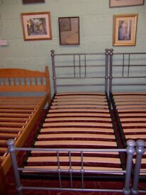 Single metal bed frame at Cambridge Re-Use (cambridge reuse)