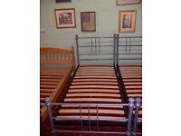 Single metal bed frame at Cambridge Re-Use (cambridge reuse)