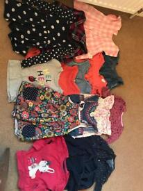 Bundle of Baby Girls Clothes ages 18-24montjs