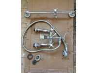 Victorian style Bath and shower mixer taps