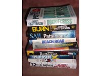 JAMES PATTERSON BOOKS ALL PICTURED MOST NEAR NEW