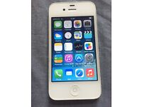 White iPhone 4s - 16GB - Mint condition - EE