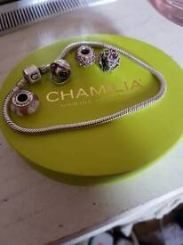 Chamilia Clasp Bracelet with Beads