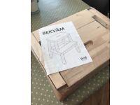 Ikea Bekvam step stool