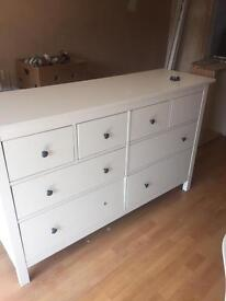 Ikea hemnes large chest of 8 drawers