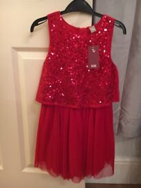 Girls dress BRAND NEW WITH TAGS Age 8
